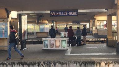 Rénovation de la gare de Bruxelles-Nord : le hall central désormais complètement accessible