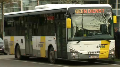 Un accord sur le service minimum garanti chez De Lijn attendu pour avril maximum