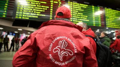 Actions sur le rail : la CGSP dépose un préavis de grève le 29 mars
