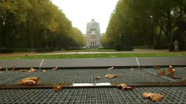 Parc Élisabeth : des murs végétalisés pour limiter l'air vicié du tunnel Léopold II