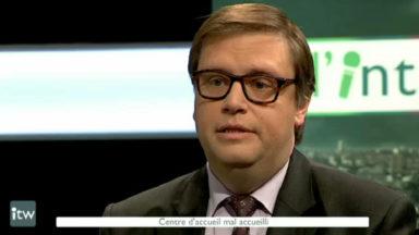 Gaëtan Van Goidsenhoven (MR) : «La Région ne loupe jamais l'occasion de créer une polémique à l'encontre du Fédéral»