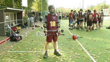 """Sports : à la découverte de """"lacrosse"""" avec les Brussels Beavers et Bobcats"""