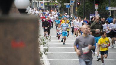 Embarras de circulation à cause du marathon de Bruxelles