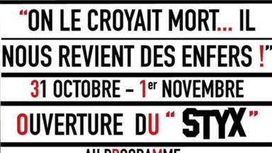 Ixelles : le cinéma Le Styx revient d'entre les morts pour Halloween