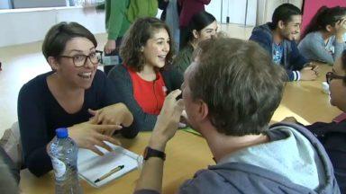 """Les futurs instituteurs bilingues se rencontrent avec le projet """"Tandem"""""""