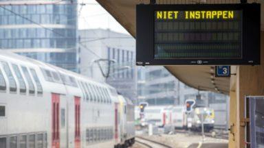 Le trafic ferroviaire a repris entre Gand et Bruxelles