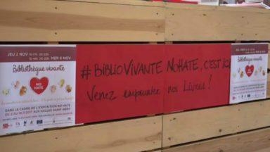 No Hate : une exposition et une bibliothèque vivante sur le harcèlement aux Halles Saint-Géry