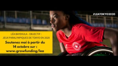L'athlète bruxelloise Léa Bayekula a besoin d'un fauteuil professionnel pour réaliser son rêve