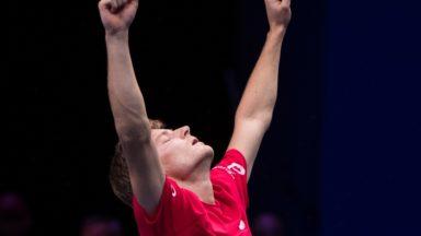 Trophée national du Mérite Sportif : David Goffin s'offre la précieuse récompense