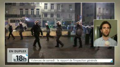 """Jan Jambon dévoile le rapport sur les émeutes de Bruxelles : """"La police n'était pas préparée"""""""