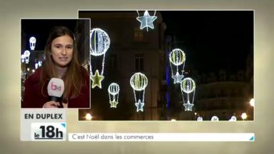 Bruxelles-ville : 11,5km de rues et boulevards s'illuminent pour les Fêtes de fin d'année