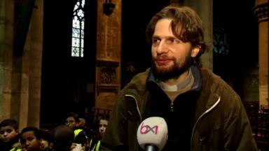 Rencontre avec Père Le Maire, à 35 ans il vient d'intégrer la paroisse d'Anderlecht en tant que prêtre