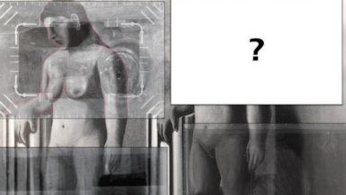 La 4e et dernière partie d'une œuvre de René Magritte découverte sous un tableau du Musée Magritte