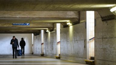 Schaerbeek : la SNCB va ouvrir le tunnel piétonnier sous la gare pour un meilleur accès à Docks