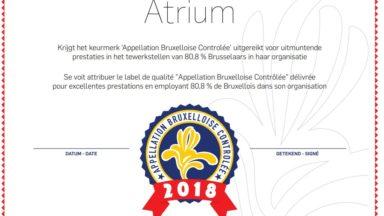 Les administrations de la Région engageant des Bruxellois auront leur label de qualité