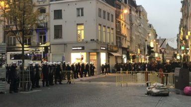 Incidents place de la Monnaie : 2 des 4 mineurs arrêtés ont été relaxés