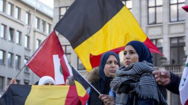 Rassemblement devant l'Albertine pour dénoncer les émeutes du 11 novembre dernier