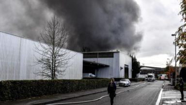 Incendie à l'usine Milcamps : un site ravagé, 80 travailleurs dans l'incertitude