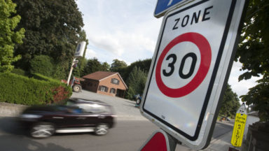 Schaerbeek: des sacs à pain pour sensibiliser sur la zone 30 généralisée