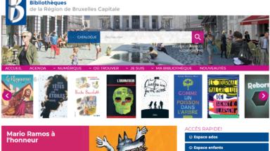 Biblio.brussels : le nouveau portail pour les bibliothèques de la Région bruxelloise