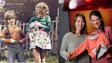 """La marque de vêtements durables pour enfants """"Bonjour Maurice"""" soutenue par la Région bruxelloise"""