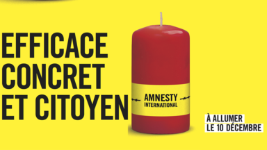Amnesty est à la recherche de 3.500 vendeurs de bougies bénévoles