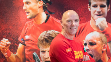 Finale de la Coupe Davis : la Belgique en stage à Uccle