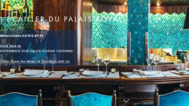 Guide Michelin : première étoile pour L'Ecailler du Palais Royal situé à coté de la Place du Sablon