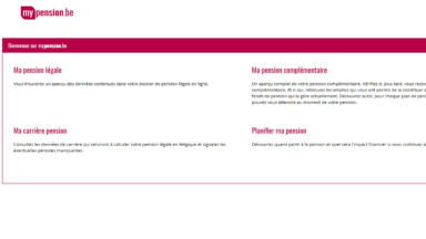 Estimer le montant de sa pension légale est désormais possible via Mypension.be