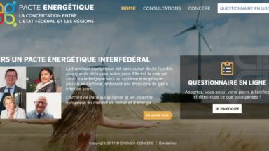 La consultation citoyenne sur le Pacte énergétique déjà remplie par 35.000 Belges