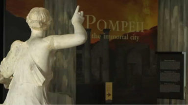 La Bourse accueille une expo dédiée à l'histoire de Pompéi