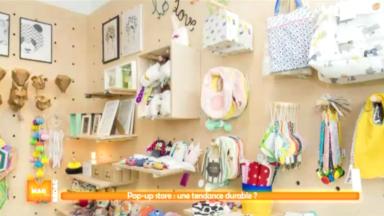 Les pop-up store, ces magasins éphémères, sont de plus en plus tendances à Bruxelles