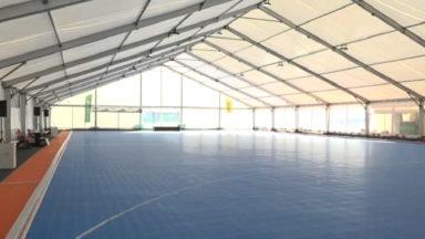 Anderlecht : inauguration d'une salle de hockey indoor éphémère