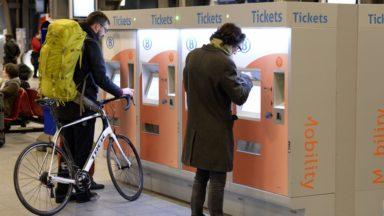 Fin de la panne des guichets automatiques à la SNCB