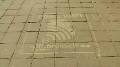 Des tags publicitaires sur les trottoirs bruxellois : est-ce bien légal ?