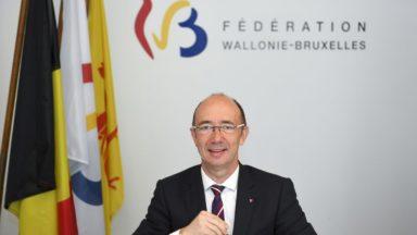 Rudy Demotte est le nouveau président du parlement de la Fédération Wallonie-Bruxelles
