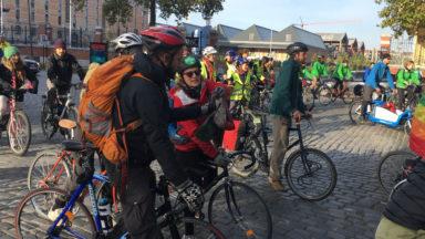 350 cyclistes pédalent depuis Bruxelles vers Bonn pour la COP23