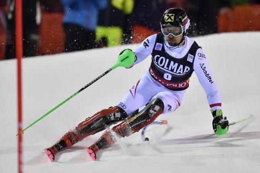 Ski: Hirscher en tête après la 1re manche du slalom de Madona