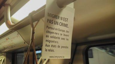"""""""Défendons la justice migratoire"""" : la campagne #InMyName se dévoile dans les métros et les gares"""