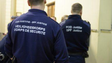 Le corps de sécurité en grève : des dizaines d'affaires avec détenus remises