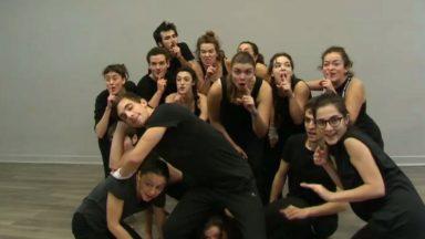 """Des étudiants bruxellois répètent en vue de """"Casse-Noisette"""", le nouveau spectacle de Franco Dragone"""