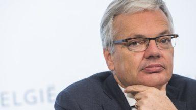 "Reynders: ""Charles Michel ne demandera pas la confiance mais répondra aux interpellations"""