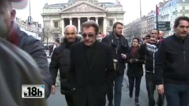 La Belgique et Bruxelles, pays et ville de coeur de Johnny