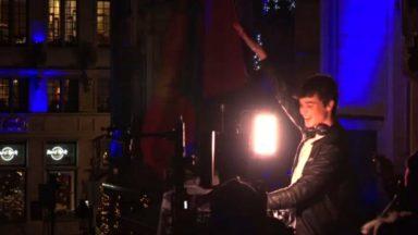 Henri PFR et Petit Biscuit ont fait danser 6 000 personnes sur la Grand'Place de Bruxelles