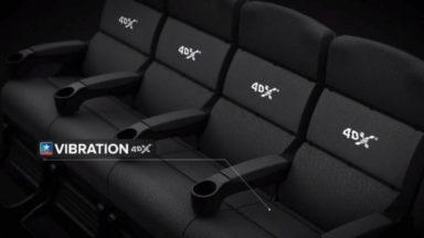 Le Kinepolis inaugure une salle 4DX au Heysel, avec des sièges qui bougent pendant le film