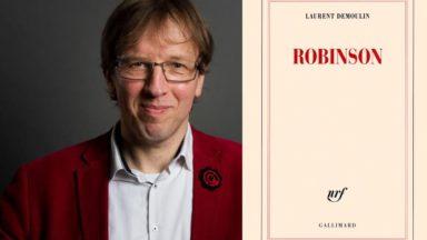 """Laurent Demoulin remporte le prix Rossel pour son livre """"Robinson"""""""
