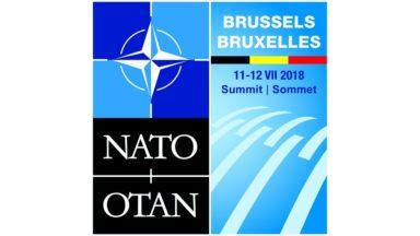 Charles Michel dévoile le logo du Sommet de l'OTAN 2018 à Bruxelles