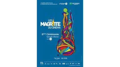 Voici l'affiche de la prochaine cérémonie des Magritte du Cinéma