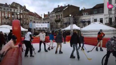 Inauguration de la première patinoire écologique et durable à Saint-Gilles