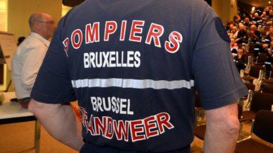Six personnes évacuées par les pompiers après un incendie boulevard du Midi à Bruxelles
